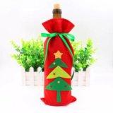 Чехол на бутылку /украшение / праздничная упаковка. Фото 1.
