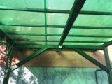 Беседка (терраса) с навесом. Фото 2.