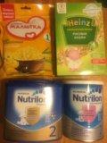 Детское питание. Фото 1.