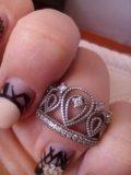 Кольцо серебряное. Фото 1.