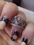 Кольцо серебряное. Фото 3.