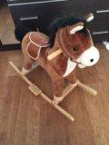 Музыкальная лошадка качалка. Фото 1.