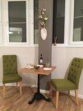 Комплект стол + 4 стула. Фото 2.
