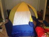 Палатка зимняя. Фото 2.