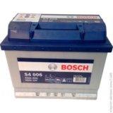 Аккумулятор bosch 0092s40060. Фото 1.