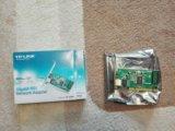 Сетевой адаптер gigabit ethernet tp-link tg-3269. Фото 1.