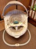 Качели для новорожденных graco sweetpeace. Фото 1.