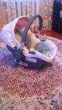 Автокресло 0+ happy baby. Фото 3.