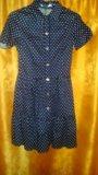 Платье в мелкий горошек. Фото 1.