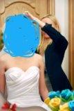 Свадебное платье р-р 40-42. Фото 2.
