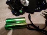 Налобный фонарик led. Фото 3.