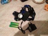 Налобный фонарик led. Фото 4.