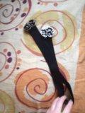Ремень-резинка с красивой пряжкой. Фото 4.