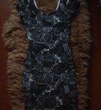 Обтягивающие платье pull and bear. Фото 2.