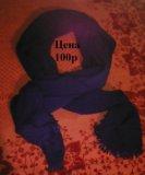Большой теплый шарф. Фото 1.