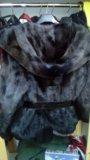 Норковый полушубок. Фото 1.