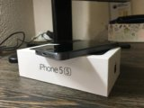 Iphone 5s, space gray, 16gb. Фото 1.