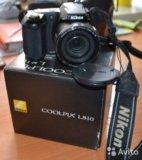 Nikon coolpix l810. Фото 1.
