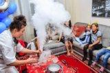 Химическое шоу, химшоу, москва, день рождения. Фото 2.