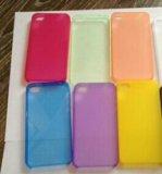 Чехол ультраслим айфон 5, 5s, se. Фото 1.