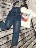 Комбез джинсовый. Фото 1.