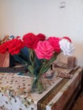 Цветы ручной работы. Фото 2.