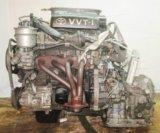 Двигатель с кпп, toyota 1sz-fe -  at u440e-. Фото 1.