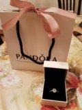 Новое кольцо pandora - размер 16,5. Фото 3.