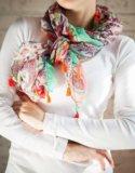 Новая шаль платок oasis. Фото 2.
