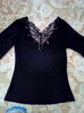 Блузка стрейч для девушки. Фото 3.