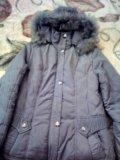 Очень теплая удлиненная куртка. Фото 1.