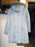 Очень теплая удлиненная куртка. Фото 2.