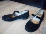 Туфельки для девочки 32 р-р. Фото 2.