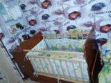Детская кроватка-маятник. Фото 2.