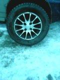 Зимняя резины на литье 13. Фото 1.