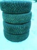 Зимняя резины на литье 13. Фото 2.