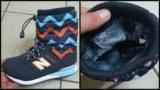 Новые ботинки на меховушке. Фото 1.
