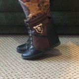 Ботинки новые кожа обмен. Фото 1.