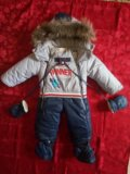 Комбинезон зимний детский. Фото 1.