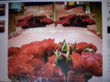 """Комплект постельного белья """"букет роз"""". Фото 1."""