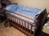 Кроватка с продольным маятником. Фото 2.
