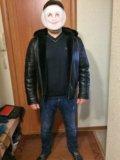 Куртка (дублёнка) мужская. Фото 1.