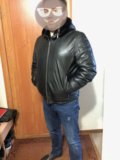 Куртка (дублёнка) мужская. Фото 2.