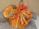 Оргинальная упаковка подарков и букетов. Фото 1.