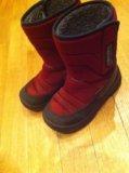 Зимние куома бордовые. Фото 1.