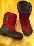 Зимние куома бордовые. Фото 2.