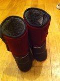 Зимние куома бордовые. Фото 3.