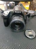 Зеркальный фотоаппарат sony dslr-a280. Фото 1.