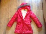 Пальто зимнее на овчине. Фото 2.