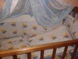 Кроватка детская+борты+матрац. Фото 1.